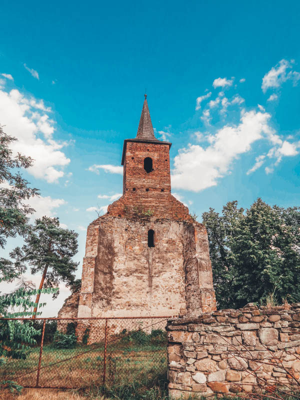Medieval church Martinuzzi Castle heritage trip romania