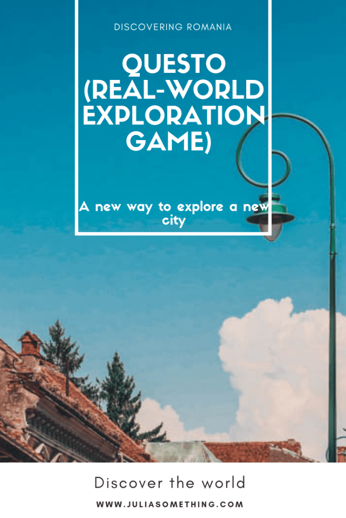 Questo (a real-world exploration game) review: A new way to explore a new city #Questo #game #travel #Romania #Europe