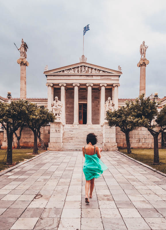 visit he Academy, the University and the Nation Library athens how I spent 7 days in Athens, Greece