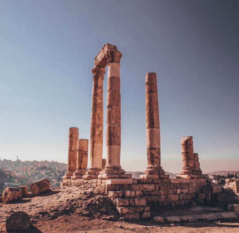 The Amman Citadel 7-day road trip guide to Jordan
