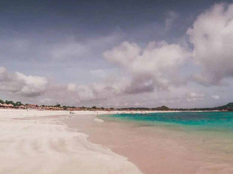 Pantai Tanjung Aan Exploring Kuta Lombok, Indonesia for 3 days