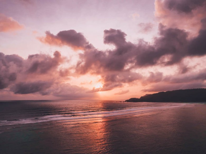 Pantai Seger Kuta Lombok