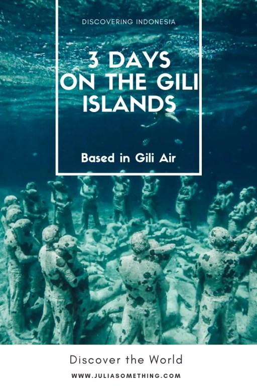 3 days on the Gili islands (base in Gili Air) #gili #bali #lombok #indonesia #travel
