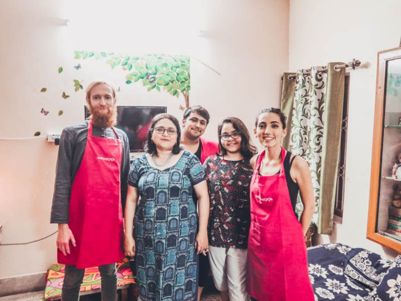 Discover Indian cuisine: Learn from locals how to cook Indian food Authenticook experience