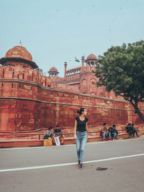 first time in india what to do in delhi red fort