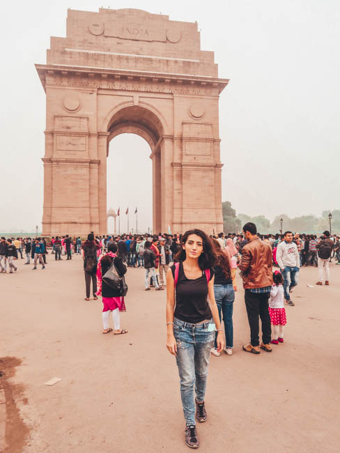 india gate  first time in india what to do in delhi india