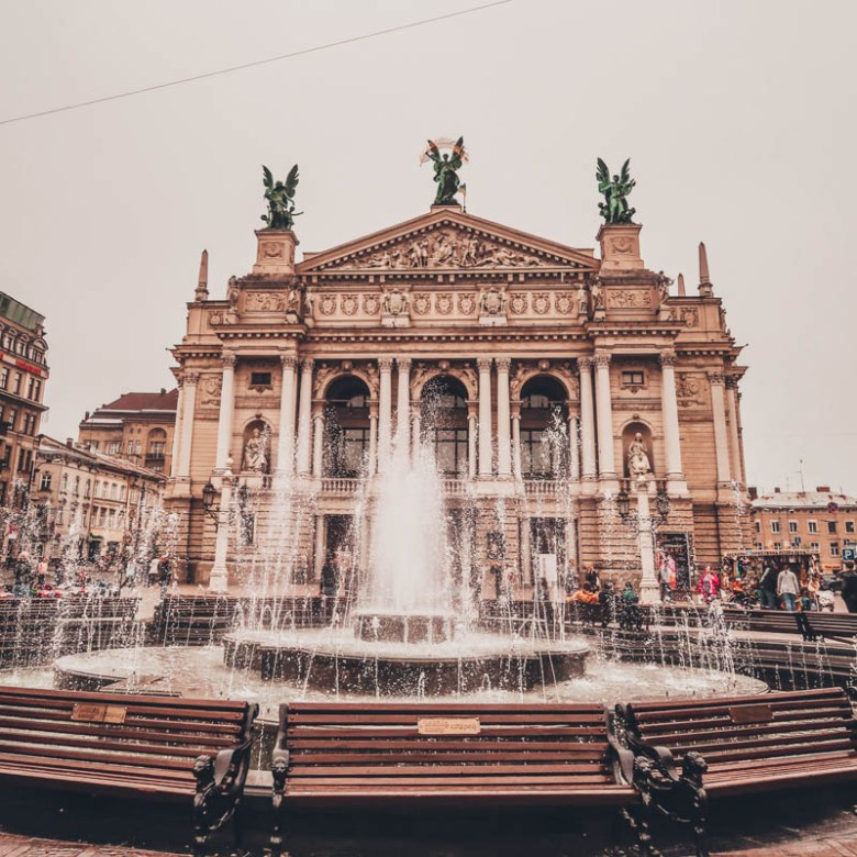 Why do you need to visit Lviv, the western city of Ukraine Lviv National Academic Opera and Ballet Theatre