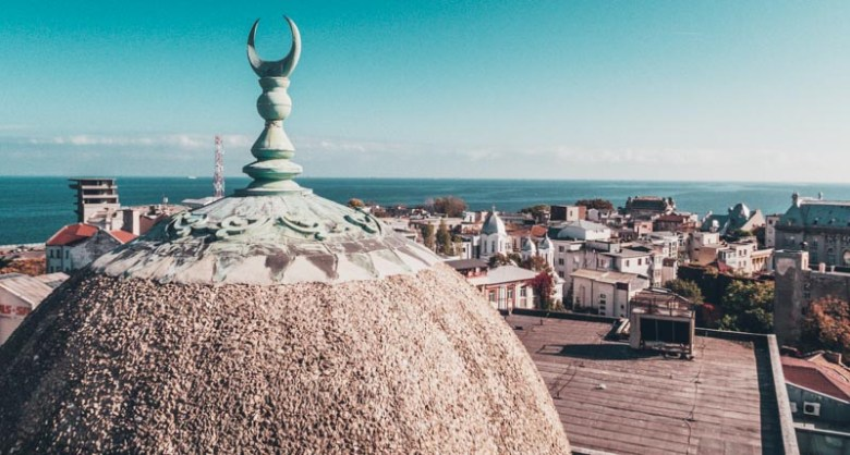 The Mosque of Constanta - Minaret How to spend 1 day in Constanta, Romania