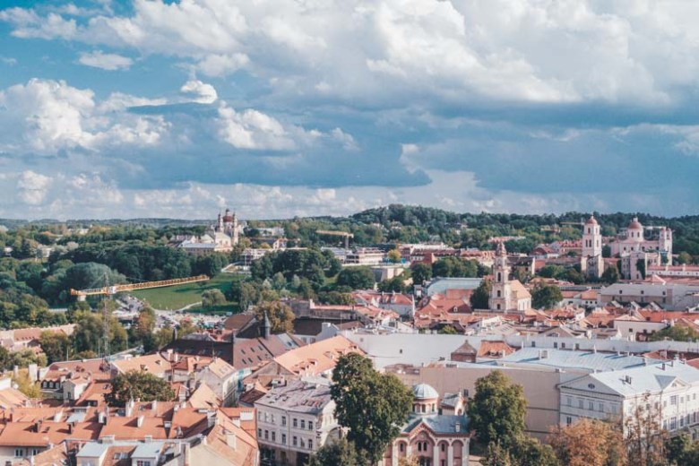 vilnius lithuania Eastern Europe road trip itinerary 2-4 weeks (Baltic road trip itinerary) cheapest countries in Europe