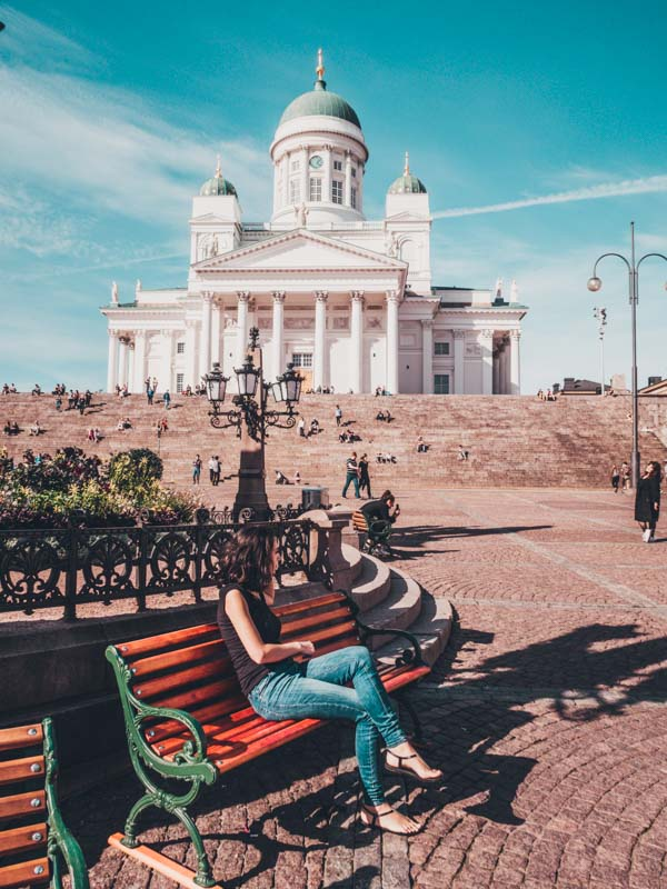 Helsinki Finland  Eastern Europe road trip itinerary 2-4 weeks (Baltic road trip itinerary)