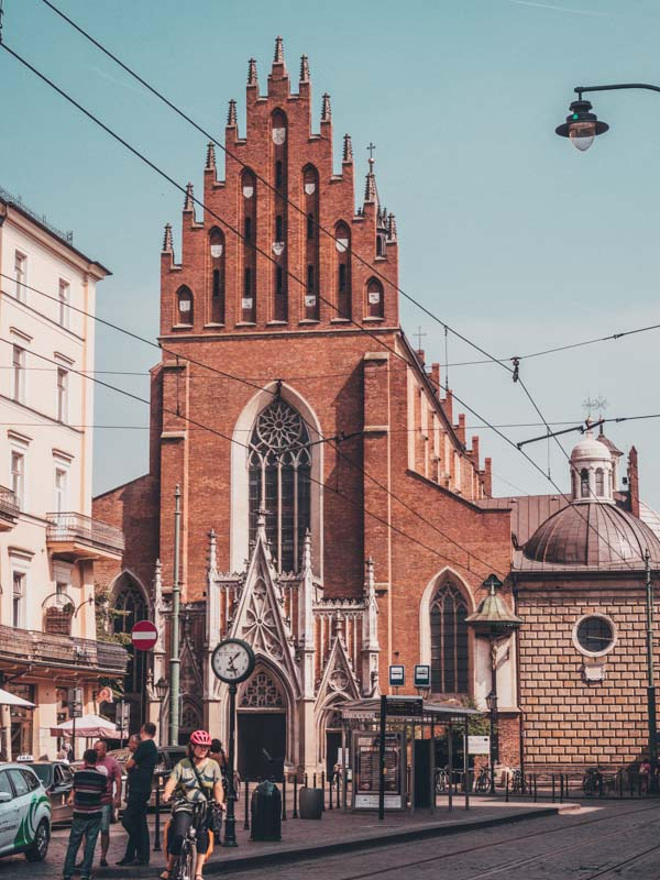 Krakow poland Eastern Europe road trip itinerary 2-4 weeks (Baltic road trip itinerary)
