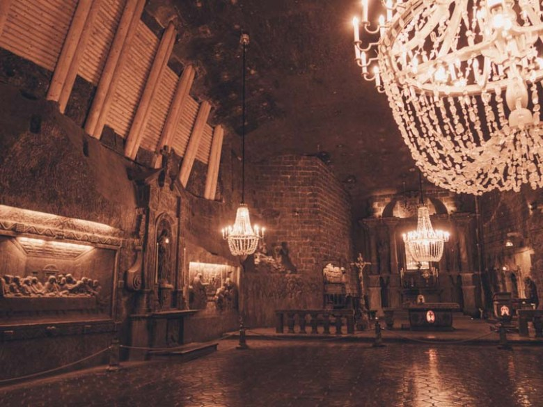 Wieliczka salt mine  Eastern Europe road trip itinerary 2-4 weeks (Baltic road trip itinerary)