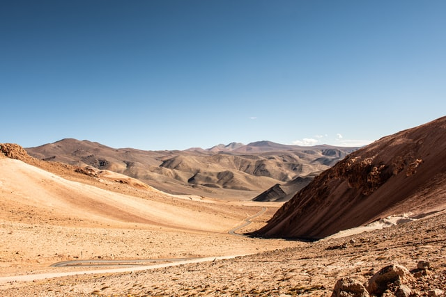 Why do people travel in inhospitable places  Atacama Desert in Chile