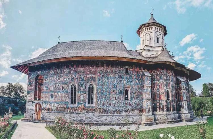 What is Romania known for moldova monastaries