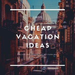 Europe Cheap Destinations