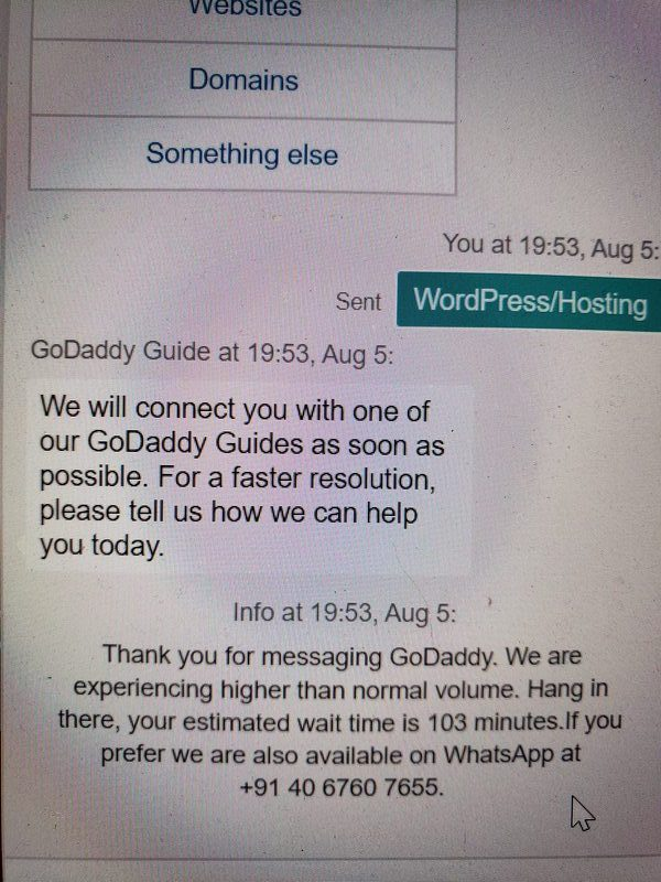 Why you shouldn't buy your web hosting from GoDaddy