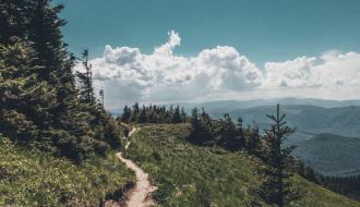 Beautiful Hiking Trail in Ciucas Mountains, Romania (medium level hiking trail)
