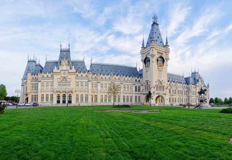 Palace of Culture Iasi Travel in Romania: 51 Most Beautiful Places in Romania to Plan Your Trip Around