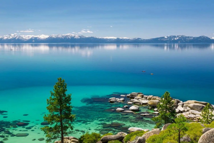 11 Lake Tahoe, Nevada Best places to visit in September in the USA