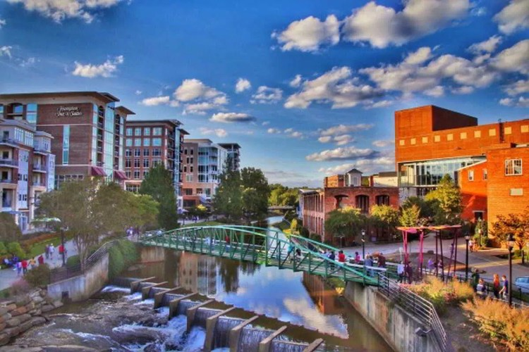 4 Greenville, South Carolina Best places to visit in September in the USA