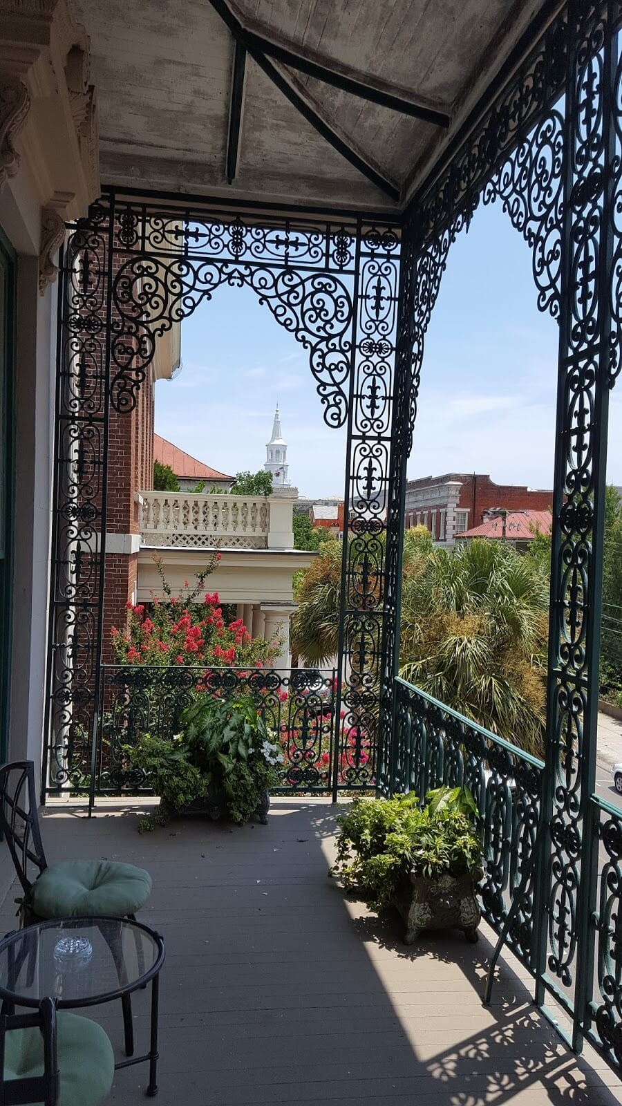 View of Charleston from the veranda of John Rutledge House