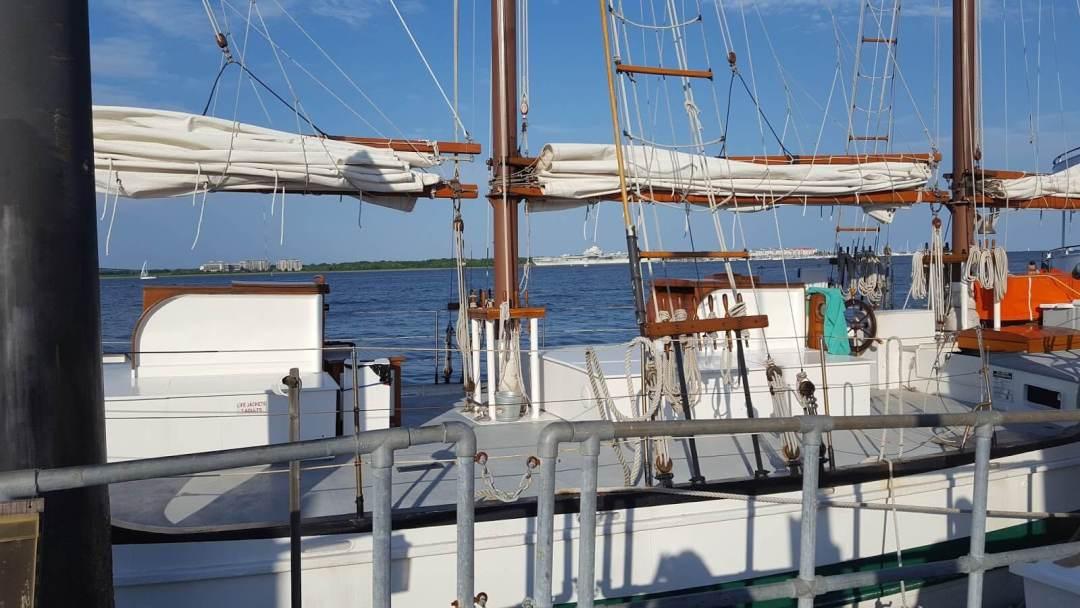 Schooner Pride - Sailing Yacht in Charleston SC