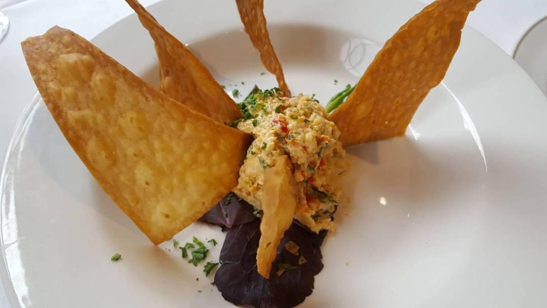 Magnolia's restaurant in downtown Charleston SC - Pimento Cheese Appetizer