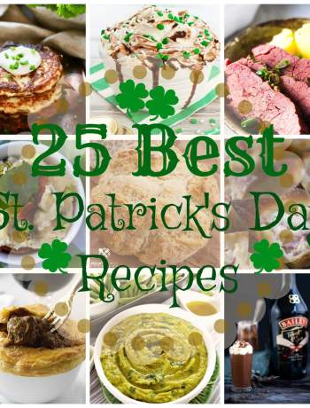 25 Perfect Recipes for St Patrick's Day - fun - green - delicious - traditions