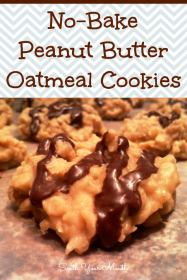 86 No-Bake Peanut Butter Oatmeal Bars collage