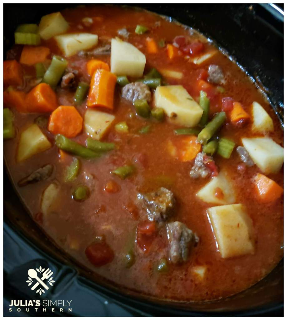Ultimate slow cooker beef stew with gravy