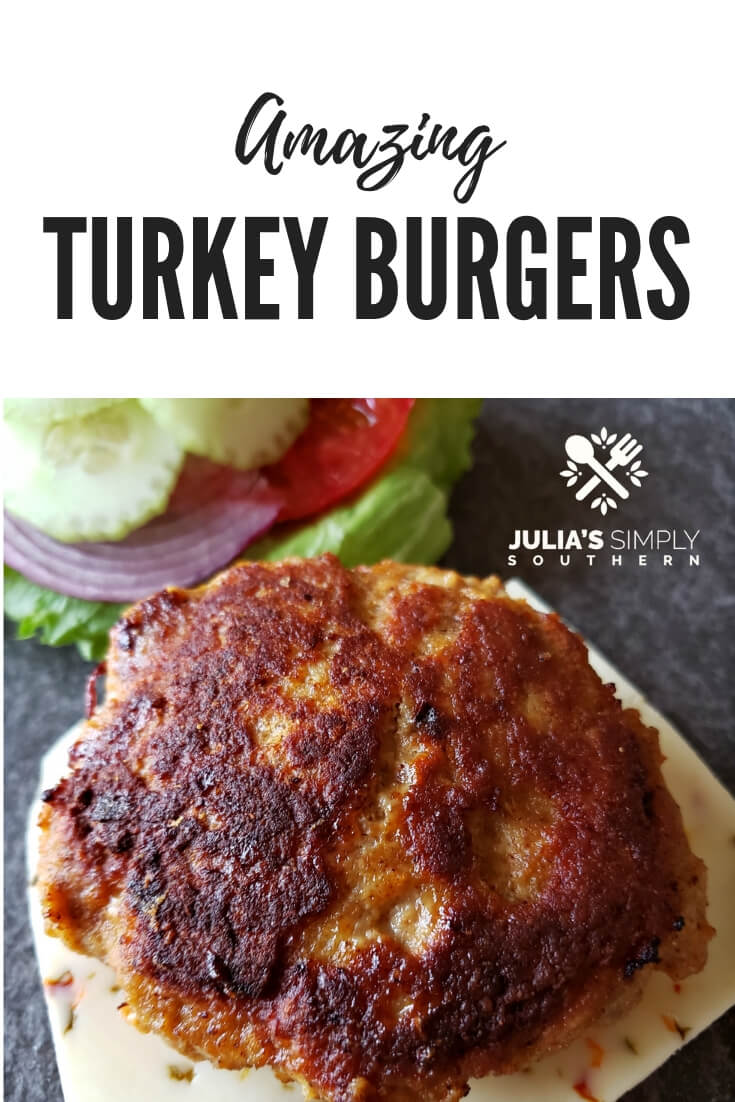 Amazing turkey burgers that are moist and flavorful. Grilling and stove top to oven method included. Turkey burgers make an amazing meal that the whole family will love. #Turkey #Turkeyrecipes #turkeyburgers #easyrecipe #familydinner