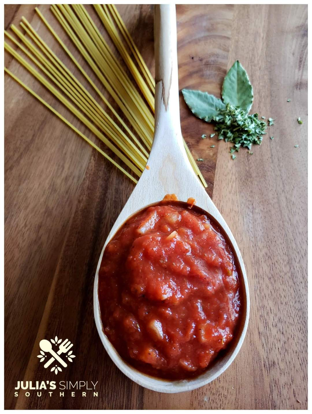 Delicious marinara sauce from canned crushed tomatoes