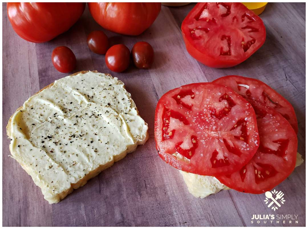 Building the perfect Southern tomato sandwich