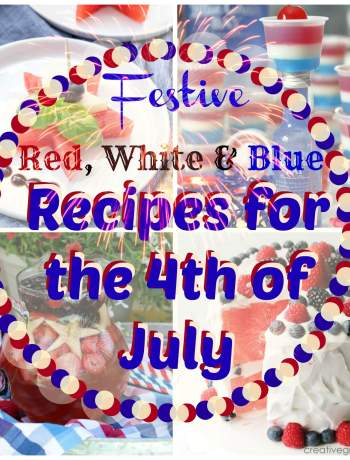 Awesome 4th of July Recipes that are Red White and Blue food - Best patriotic summer foods - desserts, appetizers, drinks, jello shots, menu ideas