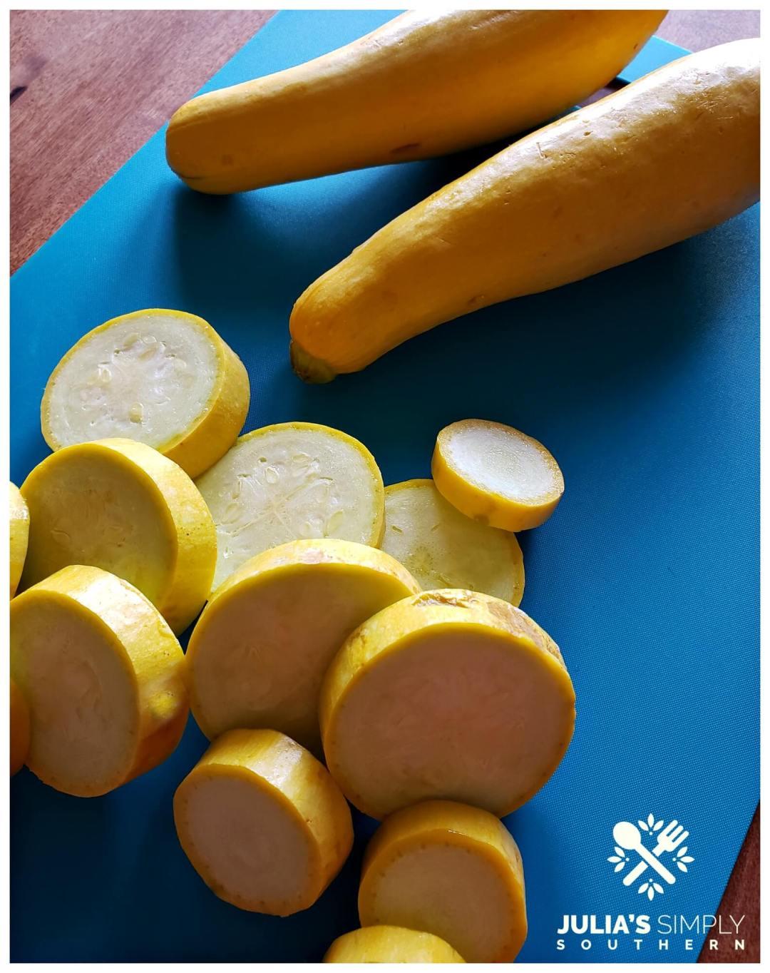 Locally grown farm to table yellow summer squash