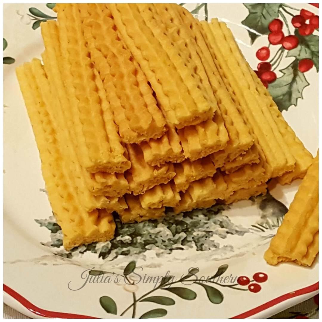 Cheese Straws - Baking - Gatherings