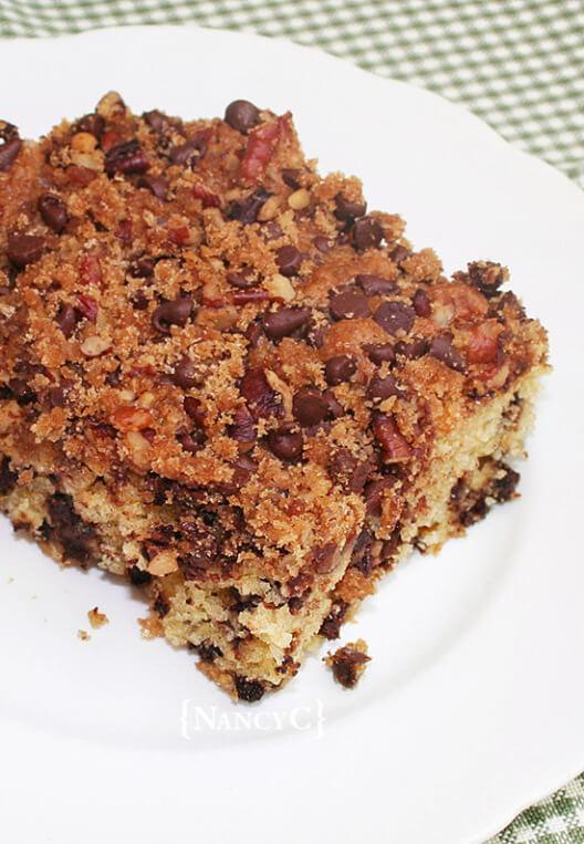 Chocolate Chip Crumb Cake - Nancy C