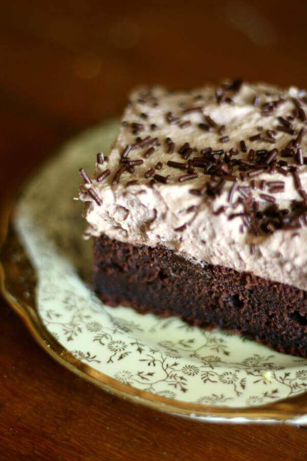 Old Fashioned Chocolate Sheet Cake - Restless Chipotle