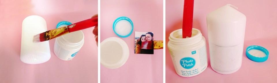 DIY Fotokerze, Kerze selber bedrucken als persönliche Geschenkidee, fotogeschenkdgdfg