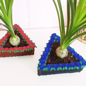 Rosenverzierung aus Fimo ganz einfach zum basteln, perfekte DIY Deko zum einrichten und verschenken, DIY mit Pflanzen