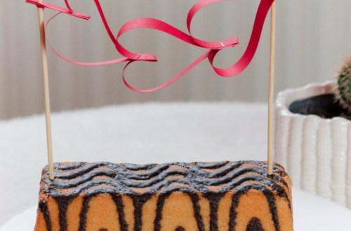 DIY Kuchen Topper für den Valentinstag oder Jahrestag. do it yourself Cake Topper love | Kuchentopper Ideen