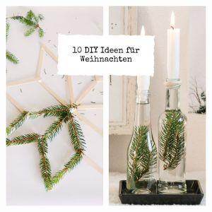 10 DIY Ideen für Weihnachten