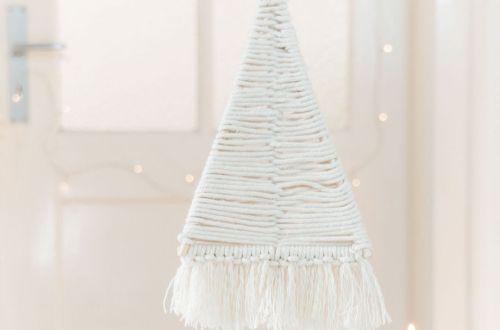 DIY Tisch Weihnachtsbaum basteln
