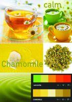 Chamomile Tea Mood board