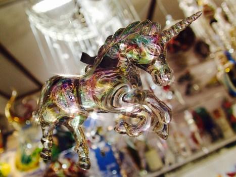 Unicorn at the Xmas Market