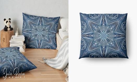 travel_pillow_snowflake_JulieBoehmART