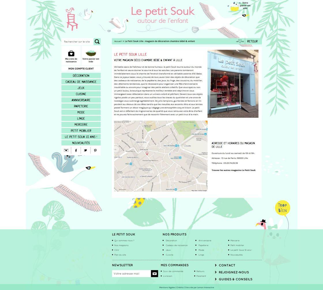 Le Petit Souk - Magasin Lille