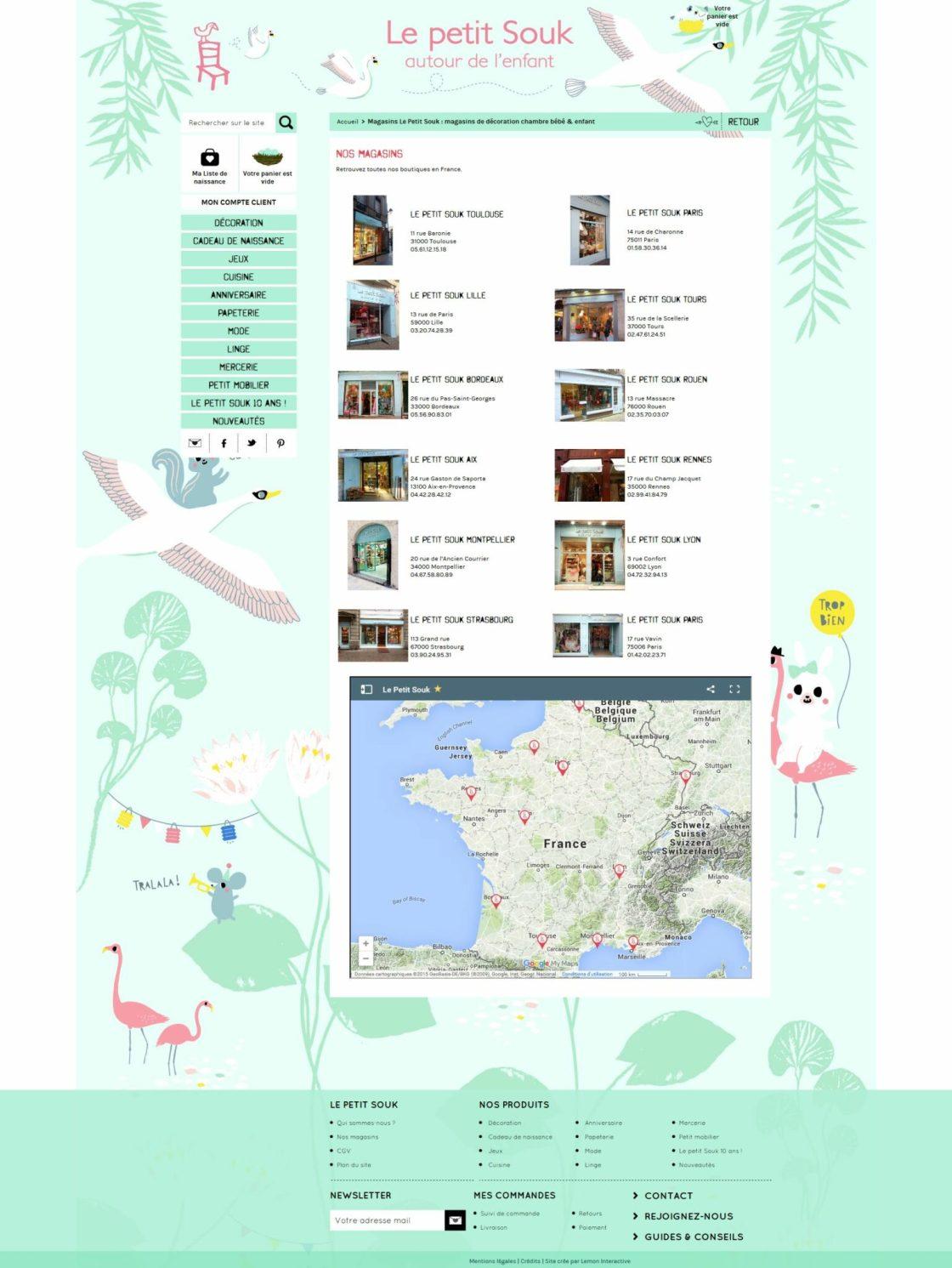 Le Petit Souk - Page magasins