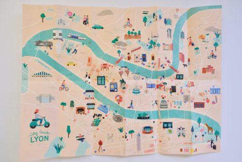 City Guide Lyon recto