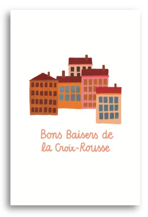 Carte postale Lyon